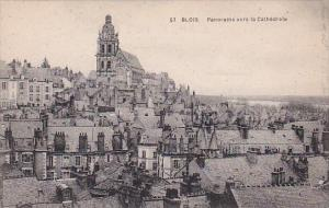 France Blois Panorama vers la Cathedrale
