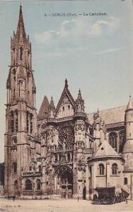 La Cathedrale, Senlis (Oise), France, PU-1908