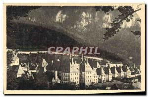 Old Postcard The Dauphine Picturesque Grande Chartreuse Monastery of the Gran...