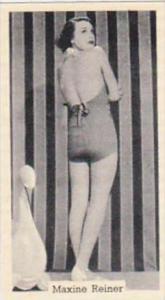 Murray Sons Cigarette Card Bathing Belles No 20 Maxine Reiner