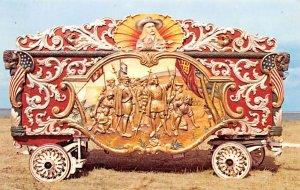 Circus Post Card Pawnee Bill's Wild West Wagon Circus World Museum Unused