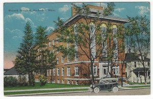 RPPC,  Rochester,  Minnesota, Early View of Worrell Hospital