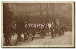 Old Postcard Army Funerals of Marechal Foch 1929 26mars front of the Joan of ...