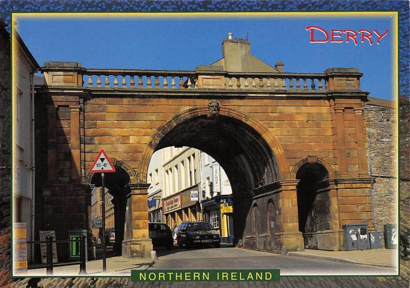 Northern Ireland Derry Ship Quay Gate
