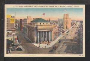 Main Street South,Winnipeg,Manitoba,Canada Postcard