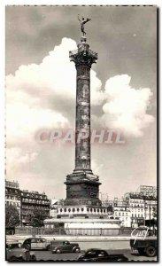 Old Postcard Paris And Its Wonders Place de la Bastille and the July Column
