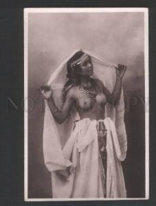 119363 Semi-nude North Africa Belle Moor Vintage photopostcard