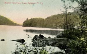NH - Lake Sunapee Region. Baptist Pond