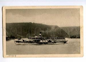 190480 GERMANY Koln Dusseldorf line ship Rhein Old postcard