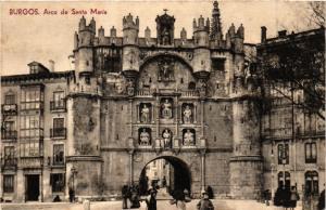 CPA Burgos Arco de Santa Maria SPAIN (744053)