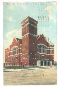 Metropolitan Methodist Church , REGINA , Saskatchewan , Canada , PU-1908