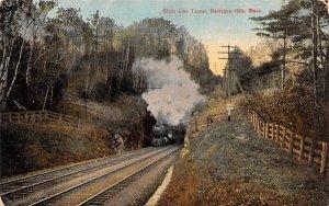 State Line Tunnel Berkshire Hills, Massachusetts