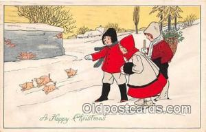 Happy Christmas  Postcards Post Cards Old Vintage Antique  Happy Christmas