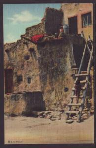 Taking the Elevator in Hopiland Postcard