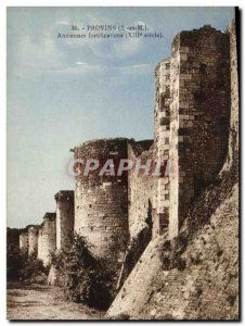Old Postcard Provins Old XIII century fortifications