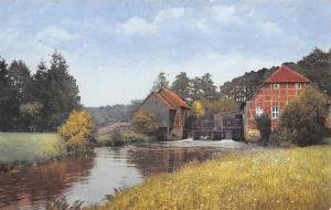 River Watermill Landscape, Photochromie