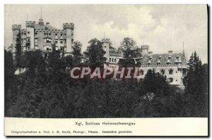 Old Postcard Kgl Schloss Hohenschwangau