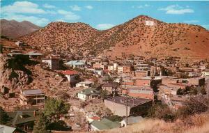 Bisbee Arizona AZ aerial view Postcard