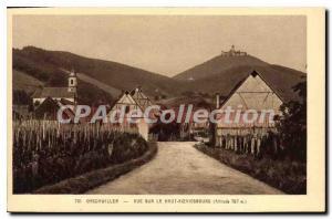 Postcard View Of The Old Orschwiller Hochk?nigsburg