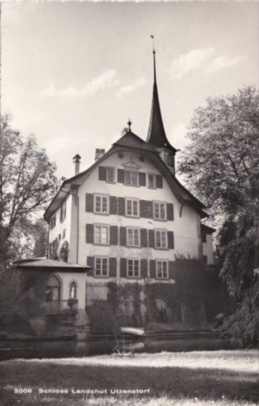 Switzerland Schloss Landshut Utzenstorf