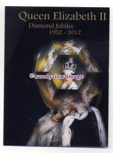 pq0142 - Queen Elizabeth II - Diamond Jubilee 2012 - postcard