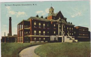 Exterior, St. Leo's Hospital, Greensboro, North Carolina, PU-1911
