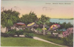 General view of Terrace, Belmont Manor, Bermuda, PU-00-10s