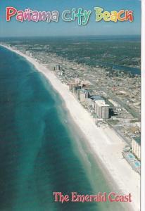 Florida Panama City Beach Aerial View Thomas Drive and Grand Lagoon