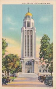 State Capitol Building Lincoln Nebraska 1941 Curteich