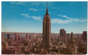 Postcard - Empire State Building - World's Tallest 102 Story Bldg, Manhattan, NY