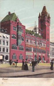 Rathaus, Basel, Switzerland, 1900-1910s