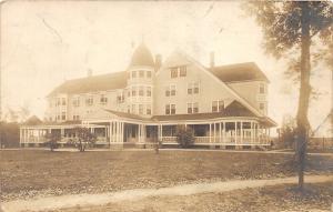 F21/ Millinocket Maine RPPC Postcard c1910 Great Northern Hotel