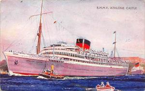 5781 R.M.M.V. Athlone ,  Castle,Union-Castle Mail Steamship Co.