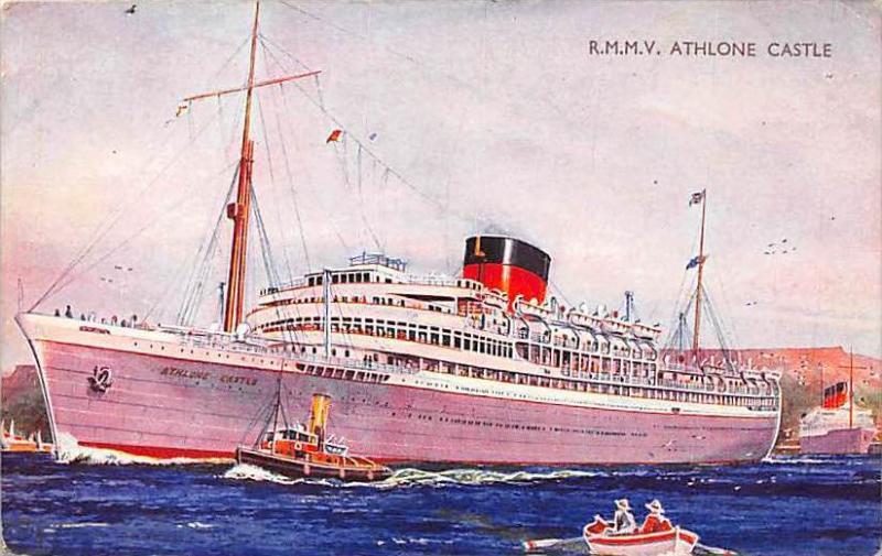 R.M.M.V. Athlone ,  Castle,Union-Castle Mail Steamship Co.