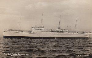 RP: Ocean Liner , m.s.ERRIA , East Asiatic Company Ltd , Copenhagen , 00-10s