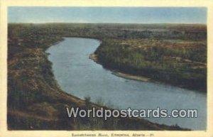Saskatchewan River Edmonton, Alberta Canada Unused
