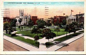 Louisiana New Orleans Lafayette Square 1931