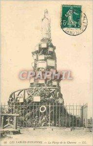 Old Postcard Les Sables d'Olonne The Virgin of Thatch