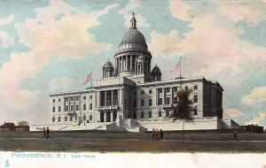 Providence, Rhode Island, State House, Early Postcard, unused