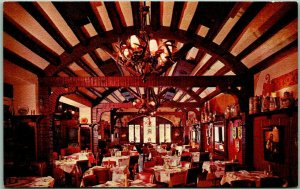 Milwaukee, Wisconsin Postcard KARL RATZCH'S RESTAURANT Interior View c1960s