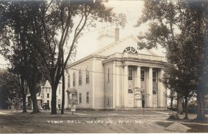 RP; WALPOLE , New Hampshire , 1910s ; Town Hall