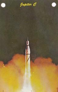 Alabama Huntsville Jupiter C With Explorer Satellite Redstone Arsenal 1967