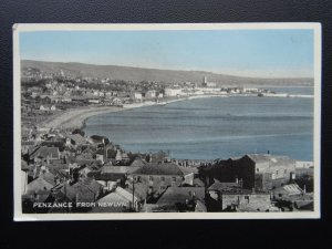 Cornwall PENZANCE from Newlyn - Old Postcard by E.T.W. Dennis