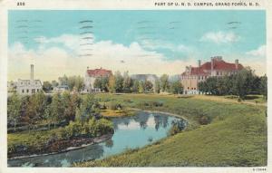 GRAND FORKS , North Dakota, PU-1938; Part of U.N.D. Campus