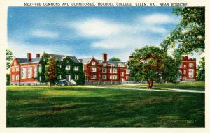 US    PC789  COMMONS & DORMITORIES, ROANOKE COLLEGE, SALEM, VA