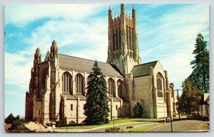 Spokane WA~St John The Evangelist Episcopal Cathedral~Gothic Architecture~1973