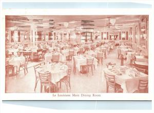 21572  LA New Orleans La Louisiane Restaurant Dinning Room