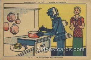 Le Policeman Automatique Advertising Unused