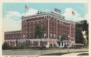 LONGVIEW, Washington, 1900-10s; Hotel Monticello