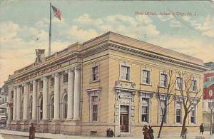 Exterior, Post Office, Atlantic City, New Jersey, PU-1915